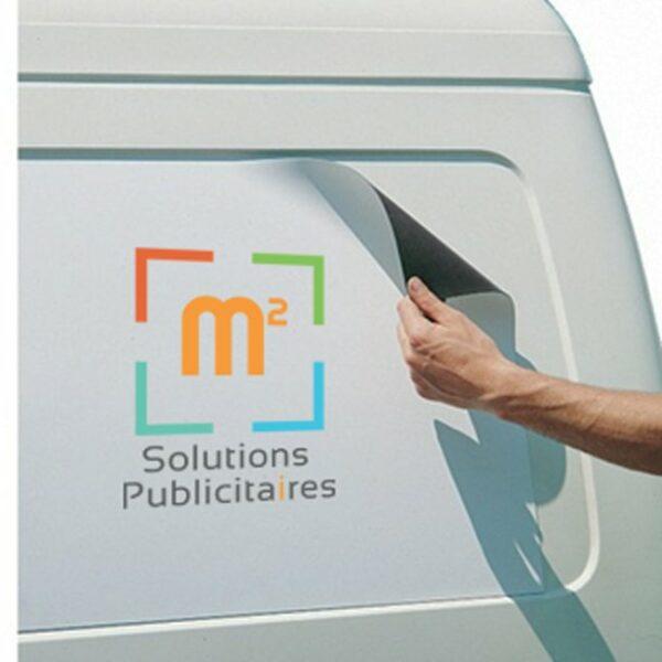plaques magnétiques pour véhicules
